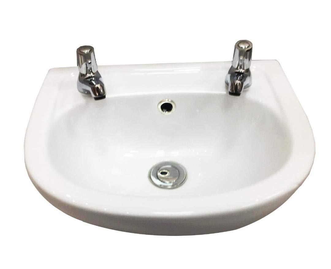 Piccolo guardaroba lavabo/lavello rubinetto –  2 fori Eurocrescent