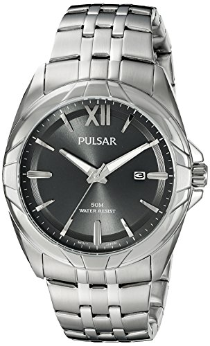 Men's Pulsar Watch Ph9083 By Seiko,stainless Steel 42mm Date Luminous Hands W/r