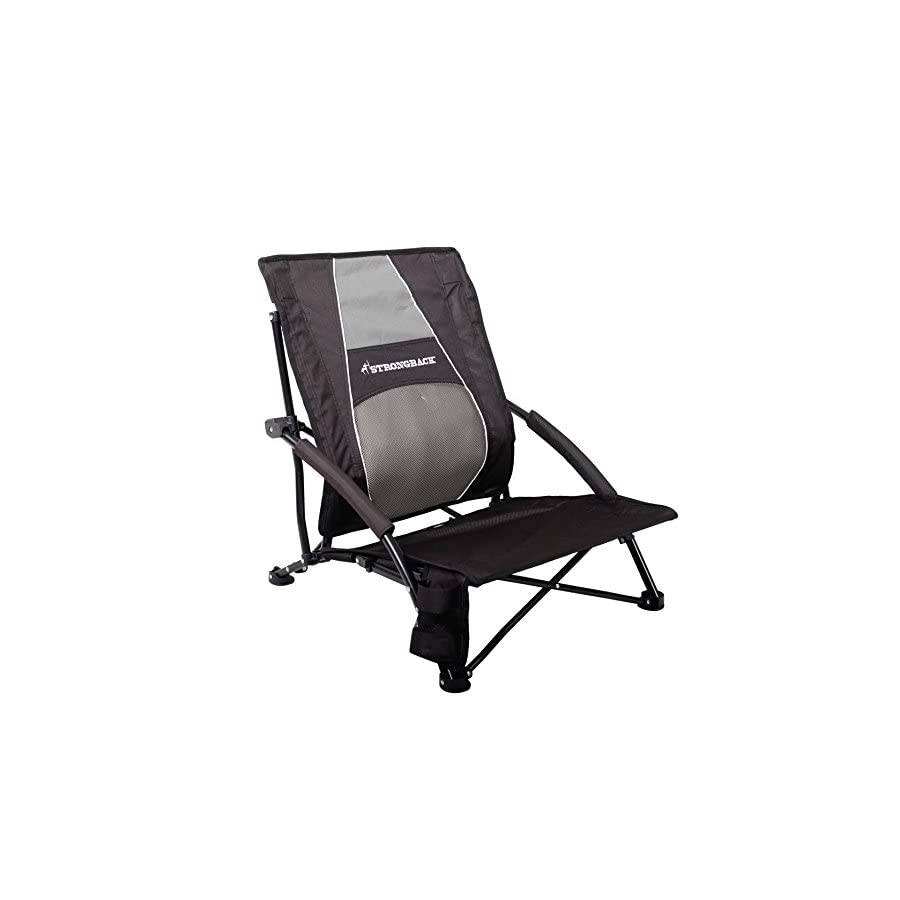STRONGBACK Low Gravity Beach Chair with Lumbar Support