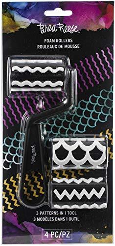 Momenta Brea Reese Foam Rollers 4/Pkg-3 Patterns ()