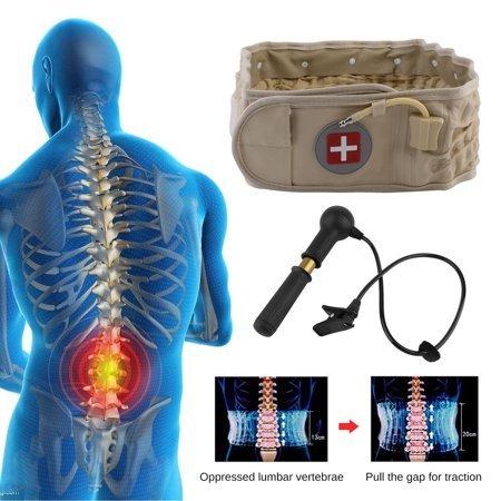 EverTone Decompression Back Belt Spinal Pain Pressure Relief Health Care