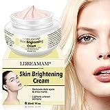 Skin Lightening Whitening Cream,Skin Brightening Cream, Brightening Face Moisturizer, Freckle cream,Anti Aging Skin