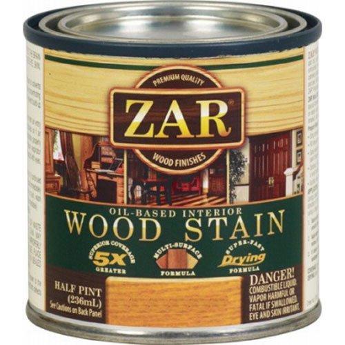 Zar 12106 Onyx Wood Stain, Black by ZAR