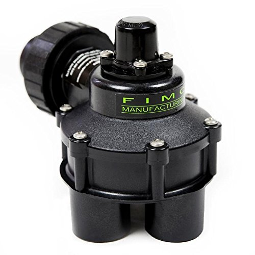Fimco 1-in Plastic Manual Irrigation Valve by Fimco