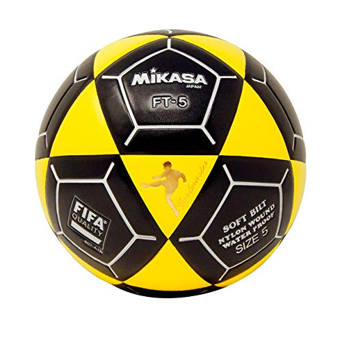 - Mikasa FT5 Goal Master Soccer Ball, Yellow/Black, Size 5