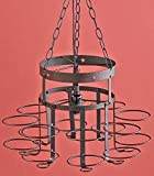 (Ship from USA) METAL WROUGHT IRON CANNING JAR CHANDELIER COUNTRY HANGING BEDROOM HOME D¨¦COR NEW /ITEM NO#E8FH4F85428120 by Mohenion