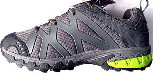 Nord Blanc Mirage niedriger Damenschuh Halbschuhe grau 42 , Chaussures de sport d'extérieur pour femme Gris Gris 42