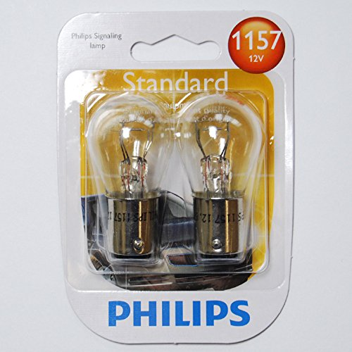 Philips 1157 - 12.8v P21/5W S8 Automotive Lamp - 2 Bulbs (Bulb Automotive 12.8v)