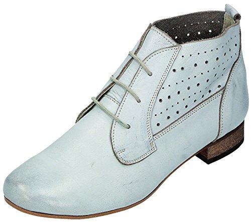 Miccos Mujer Para De Blanco Zapatos Cordones Roto IwrIx