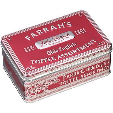 (Farrah's of Harrogate Toffee - 227g Olde English Assortment Tin)