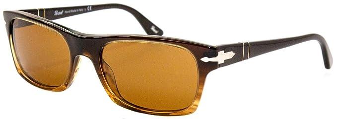Persol 102633 Gafas de Sol, Brown Stripe, 54 para Hombre ...