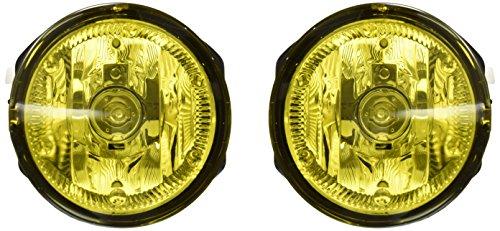 Winjet WJ30-0097-12 Yellow Lens Fog Light Kit