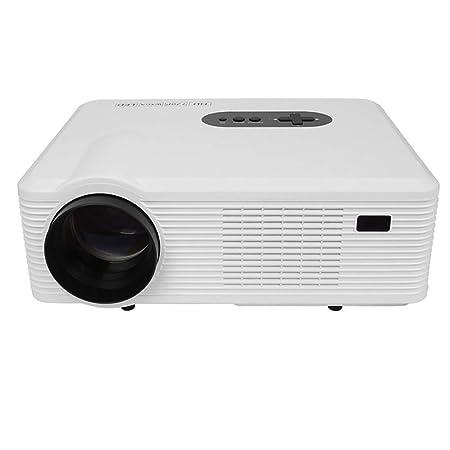 QLPP Proyector de vídeo 3000 lúmenes, Cine Full HD con 150 ...