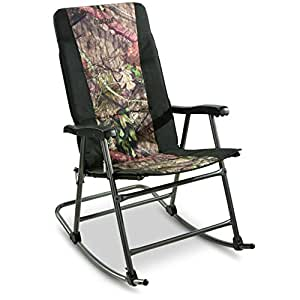 Amazon Com Guide Gear Oversized Rocking Camp Chair 500