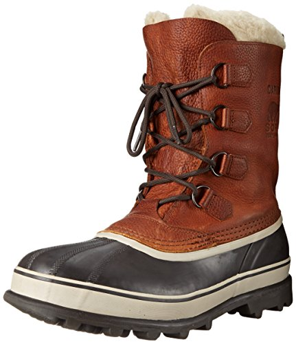 SOREL Men's Caribou Wool NM4181 Boot,Tobacco,8.5 (Sorel Caribou Wool)
