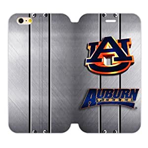 Generic Custom Unique Otterbox You Deserve--NCAA Auburn Tigers Auburn University Athletic Teams Logo TPU and High Grade PU Leather Case Cover iPhone6