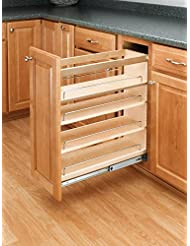 Rev A Shelf 448 BC 8C Base Cabinet Pullout Organizer With Wood