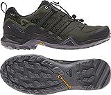 adidas outdoor Terrex Swift R2 GTX Mens Hiking Boot Night Cargo/Black/Base Green, Size 12
