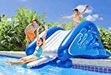 #9: Giant Inflatable Slide, Vinyl Material, Blue Color, Repair Patch Included, Easy Transportation, Comfortable, Safe And Funny, Easy Inflation And Deflation, Sturdy And Durable Construction & E-Book