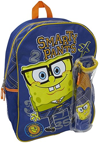 FAB Starpoint Backpack with Pencil Case - SpongeBob