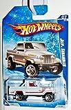 Mattel Hot Wheels 2009-123/190 Heat Fleet 07/10 Jeep Scrambler Snow Scene Card 1:64 Scale