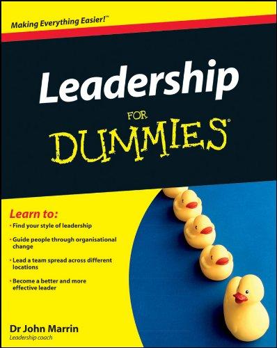 Download Leadership For Dummies pdf epub