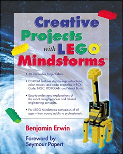 Creative Projects With Lego Mindstorms Benjamin Erwin