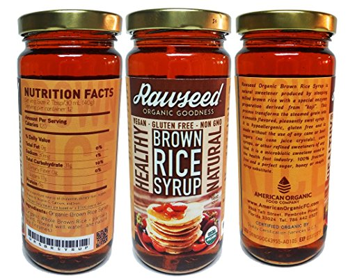 Rawseed Organic Brown Syrup certified product image