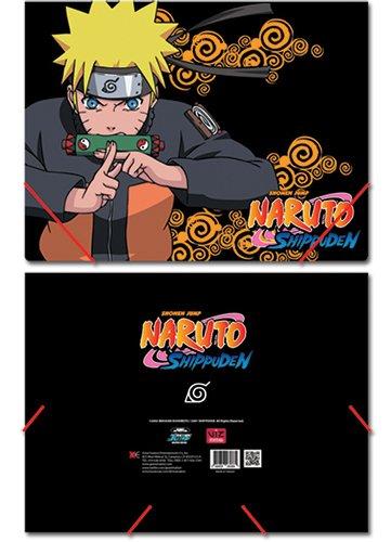 Naruto Shippuden Elastic Band Document Folder