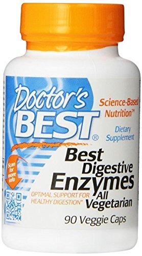Doctor's Best Best Digestive Enzymes, Vegetable Capsules