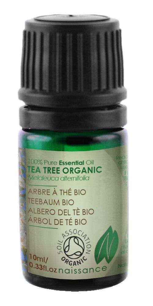 Naissance Teebaumöl 10ml BIO zertifiziert 100% naturreines ätherisches Öl eNaissance