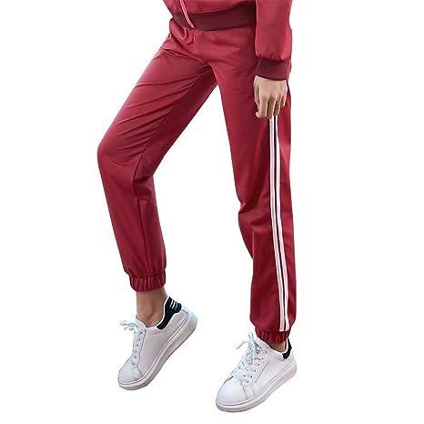 LZOK Pantalones Deportivos para Mujer Pantalones de Yoga ...