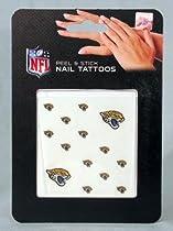 Jacksonville Jaguars NFL Peel & Stick Face/Fingernail Tattoos