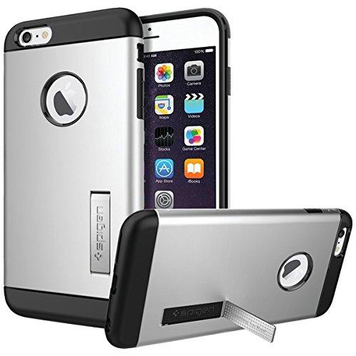 Spigen iPhone 6 Plus Case Slim Armor Series Satin Silver SGP10904