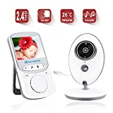 Baby Monitor Wireless Video Monitor with Night Vision Temperature Monitoring Two Way Talkback Video Baby Monitor YIDA