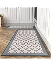 Kitchen Floor Mats, Sink Kitchen Absorbent Rugs and Mats, Non-Skid Kitchen Mat, Standing Mat Washable