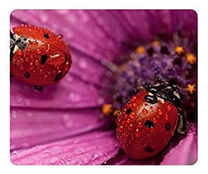 Mouse Pad Ladybug 8 Desktop Laptop Mousepads Comfortable Office Mouse Pad Mat Cute Gaming Mouse Pad 2015 Happy New Year