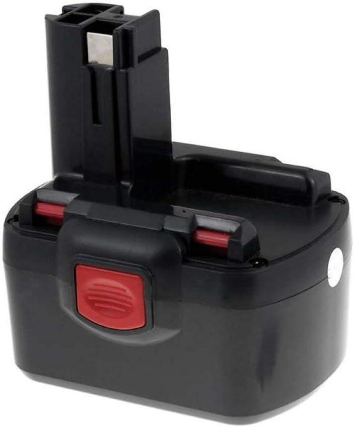 Powery Batería para BTI Profiline Destornillador eléctrico ABS 12 VE Set Systra NiMH 3000mAh