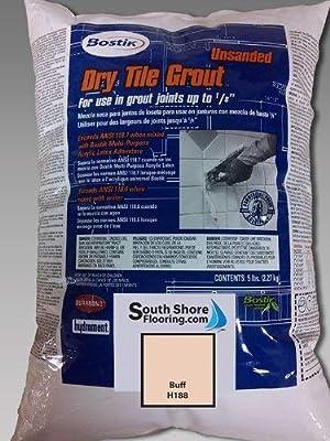 Bostik Unsanded Dry Tile Grout 5lb Bag - Various Colors (Buff #188)