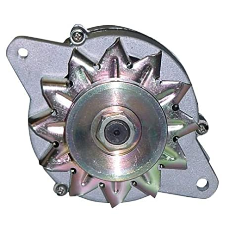 Amazon.com: Alternator For Ford Tractor 1210 1310 1510 1710 ... on ford tractor 12 volt conversion diagram, ford tractor electrical diagram, generator to alternator conversion diagram, ford alternator parts diagram, ford 8n alternator conversion diagram, ford 600 wiring diagram, ford alternator wiring harness, ford tractor 4 cylinder diesel engine, ford tractor fuse block diagram, ford 9n wiring-diagram, john deere b tractor wiring diagram, ford 800 wiring diagram, ford tractor hydraulic diagram, ford tractor shift pattern, ford 8n hydraulic pressure relief valve, ford f-150 starter solenoid wiring diagram, ford 600 tractor wiring, ford truck alternator diagram, diesel tractor wiring diagram, ford one wire alternator diagram,
