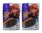 Blue Ridge Naturals Pork & Sweet Tater Jerky Dog Treats, 6oz (Pack of 2)