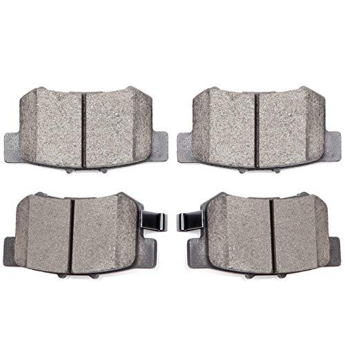 Brake Pads,ECCPP 4pcs Rear Ceramic Disc Brake Pads Kits for Acura CL/EL/ILX/Integra/RSX/TL/TSX/Vigor,Honda Accord/Civic/CR-Z/Prelude/S2000,Suzuki Kizashi/SX4
