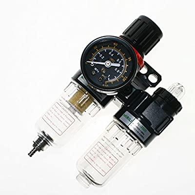 BIGTEDDY - Air Pressure Regulator Separator Pneumatic Filter Compressor for Oil / Water AFR2000 AL2000