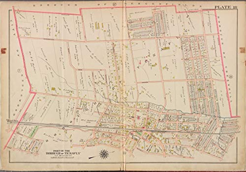 Reprinted 18 x 24 1912 Map of Philadelphia, Pa. A new and correct North America with the West India Islands divided according to the last Treaty of Peace, concluded at Paris the 20th of Jan. 1 0 0 31a by Vintography