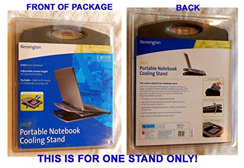 Kensington Liftoff Portable Notebook Cooling Stand - New, Unopened, Original Packaging