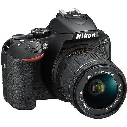 Nikon D5600 DX-format Digital SLR w/ AF-P DX NIKKOR 18-55mm f/3  5-5  6G VR