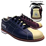 Bowlerstore Mens Classic Plus Rental Bowling Shoes (11 M US, Blue/Red/Cream)
