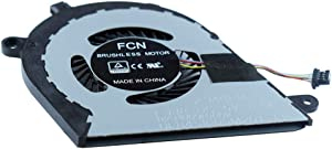 Rangale CPU Cooling Fan Compatible for Dell Inspiron 13 7370 7373 I7373-5558GRY-PUS Series Laptop DJFK0 0DJFK0