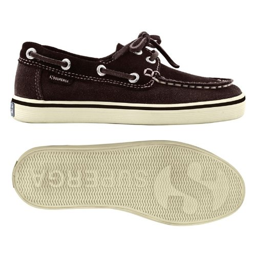 Superga - Zapatillas de Running Unisex, para niños Marrón - Dark Chocolate