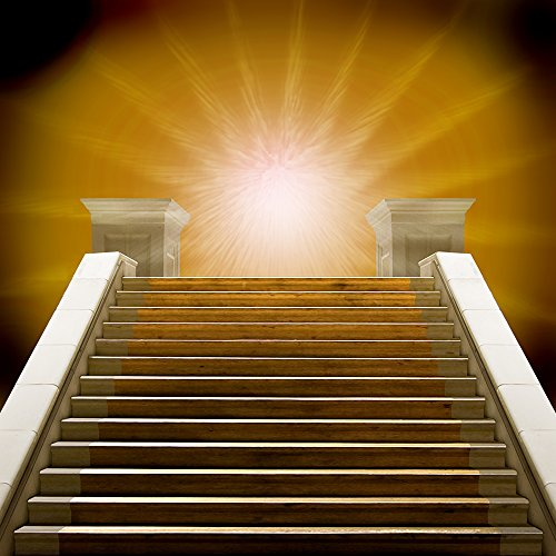 (Photography Backdrop - Starlight Stairway - 10x10 Ft. Seamless)